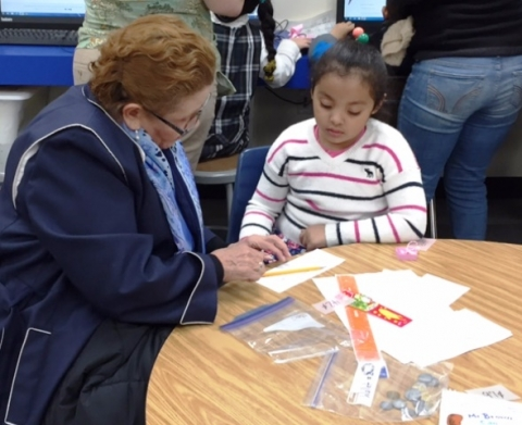 ELL Math Night Grade 1